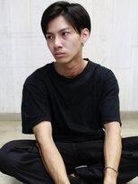 天神【BIRTH】ツーブロック×前髪長めのサイドパートショート2