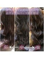 表参道chobii デジタルパーマ 毛先パーマ ウェーブパーマ 栗原/7