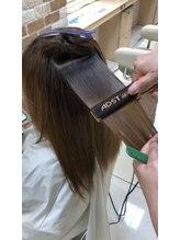 髪質改善の縮毛矯正で艶髪を手に入れる。