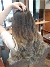 アピューズ ヘアー 梅田店(Apiuz Hair)Apiuz Hair 外国人風☆3Dグラデーションカラー
