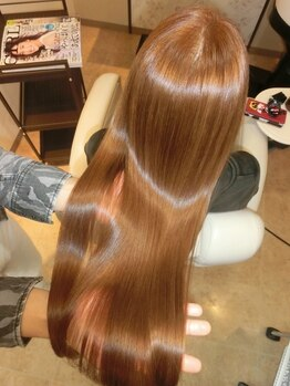 ブルームヘア 大宮(Bloom hair)の写真/【大宮駅東口】特許技術☆《M3Dメニュー》で『未体験の潤いとツヤ』 を。くり返す程、美しい艶髪に。