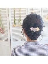 ストーリーヘアアンドケア (Story hair&care)結婚式・パーティーお呼ばれスタイル☆A