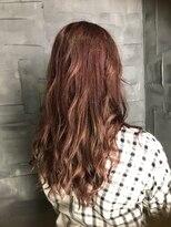 ヘアサロンエム フィス 池袋(HAIR SALON M Fe's)秋色☆ピンクベージュ系カラー☆