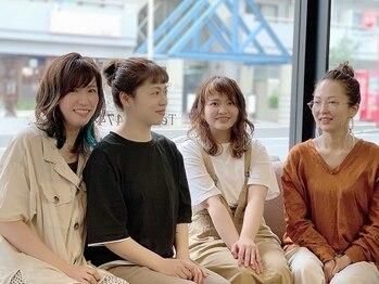 ラトリエコンタン(L´atelier Content)の写真/[30代女性支持率TOPクラスサロン]全員女性スタッフなので、女性ならではの心配りやおもてなしが嬉しい♪