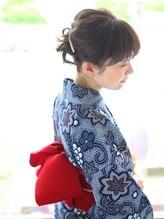 ヘアードレッシングサロン ウィル(Hair Dressing salon WILL)Style of a yukata