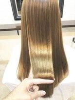 エトネ ヘアーサロン 仙台駅前(eTONe hair salon)【eTONe】ナチュラルストレート