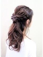 キャメル 平井店(Hair&Nail CAMEL)ハーフアップ