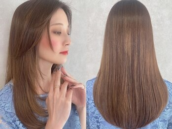 アマニ ヘアー ホスピタル 表参道/青山(AMANI.HAIR HOSPITAL)の写真/【表参道★NEWOPEN】染めるたびに深まる艶感。まるでトリートメントのような毛髪修復Dr.カラーに感動!