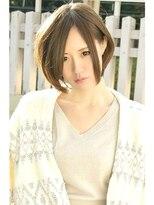 ヘアーサロン エール 原宿(hair salon ailes)(ailes原宿)style84 クラシカル☆スウェードボブ