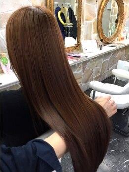 アンジュ ヘアー(ange hair)の写真/美容マニアも納得の、悩み別に対応できる特殊トリートメントが豊富♪一人ひとりに合ったベストケアを提案☆