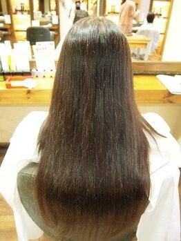 バランス ウィズ ケーズヘアー(VALANCE with k's hair)の写真/【ロング料金ナシ☆】髪のうねり、広がり、クセなど様々な髪のお悩みを解消!憧れのサラサラストレートへ♪