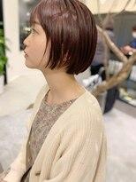 ヘアーアイスカルテット(HAIR ICI QUARTET)ピンク × ベージュ
