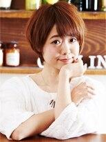 モニカ 横須賀中央店(Monica)♪ショートでキュートなふんわりスタイル♪【横須賀中央】