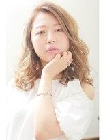 ヘアーアンジェ グロウ 武蔵小杉店(Hair ange grow)【Hair ange grow】グレージュ☆ふんわりカールセミロング