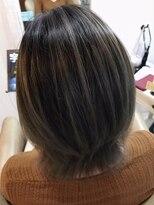 ルーナ ヘアラウンジ(Luuna hair lounge)コントラストバレイヤージュ