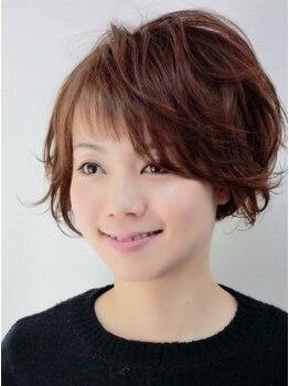 ヘアーメイク レイ(Hair make Lei)の写真/クセや髪質を見極めたカット技術で扱いやすい似合わせスタイルを実現♪口コミ好評価◎