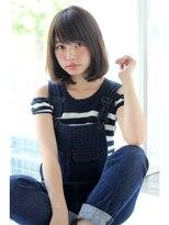 アンアミ オモテサンドウ(Un ami omotesando)【Unami】姫カット×モード×クラシカルミルクティーカラー島田