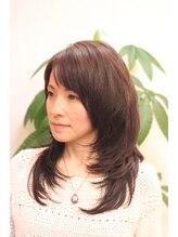 マオヘアー(MAO hair)【MAOhair】乾かすだけで内巻きシャギースタイル