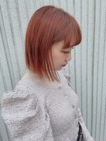 ネオヘアー 東向島店(NEO Hair)オレンジブラウンカラー