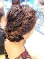 オブヘアー 鷺沼店(Of HAIR)綺麗にまとめるヘアセット S