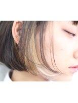 アンバースデー(UNBIRTHDAY)インナーカラー/ボブ【萩原真悟】