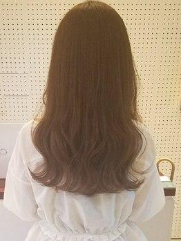 """ルカ ヘアデザイン(Luca hair design)の写真/白髪をカバーしながらオシャレ染め♪オーガニックカラーで頭皮や髪をいたわりながら""""キレイ""""を叶えます☆"""