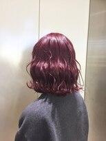 ヘアサロン ドット トウキョウ カラー 町田店(hair salon dot. tokyo color)【cassis pink11】ダブルカラーカラーリスト田中【町田/町田駅】