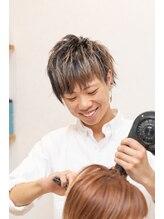 ビューティースペースラルジュヘアー(Beauty Space Large hair)冨島 智基