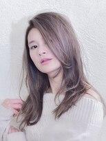 インシ(h&m insi)insi中山☆ヘルシーレイヤーロング×イルミナカラー☆
