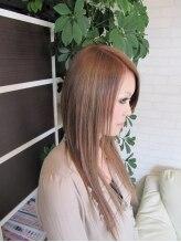 ヘアメイク エスブランチ(HAIR MAKE S Branch)キャラメルミルクティー