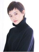 アンルポン 天満橋(un le pont)【un le pont天満橋】大人かわいい☆小顔モードエッジショート