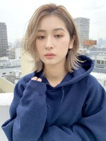 アルバム シブヤ(ALBUM SHIBUYA)ニュアンスレイヤーボブ_くびれミディ_58270 渋谷