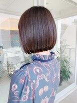キアラ(Kchiara)ピンクカラーでキュートなボブ【福岡大名Kchiara瀧本】