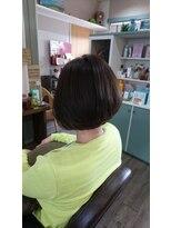 ヘアサロンアンドリラクゼーション マハナ(Hair salon&Relaxation mahana)お手入れ楽々♪空気感がおしゃれなボブスタイル!