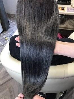 ヘアー アンジェリック(HAIR ANGELIC)の写真/次世代の髪質改善トリートメントで集中ケア★続けていく事で、その時だけじゃないキレイな素髪が長続き♪