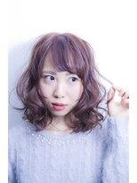 【kamiya】透明感のあるラベンダーアッシュ