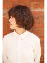 クレーン ヘアー デザイン(CRANE Hair Design)かわいいボブ。