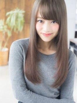 ビューティーサロン ビヴィ(Beauty Salon Bivi)の写真/クセ毛にお悩み方にオススメです!【自然なストレートヘア】に仕上げます!何度も触れたくなるツヤ髪へ…