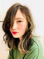 ヘアスピリッツアンクス(Hair Spirit anx)女っぽセミディー・ウェーブ