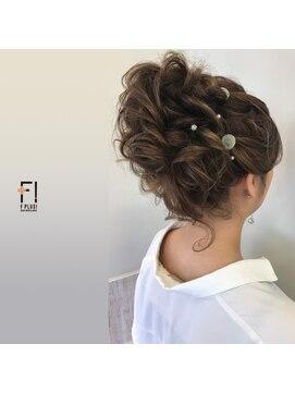 ヘアーメイクアンドネイル エフプラス(hairmake&nail F PLUS)【F PLUS!-エフプラス-】アップスタイル