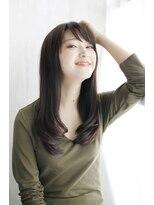 ヘアー エキスパート カミワザ カルム(hair expert kamiwaza CALME)ストレート+毛先ナチュラルカール