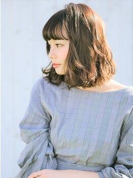 モナン 新宿(Monan)の写真/《新宿西口NEWOPEN☆》パーマのお客様多数!あなたに「似合う」ふんわり&艶のあるスタイルに仕上げます☆