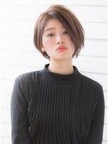 【GARDEN西川】3Dカラー・センターパート小顔モードショート