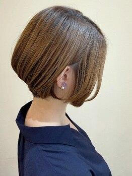 ヘアーガーデン オーパスリンク 池袋(hair garden Opus Link)の写真/【ショート&ボブ】カットの違いに感動☆360度美しいフォルム&セット楽々でこだわりの強い大人女性に人気◎