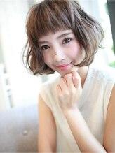 アグ ヘアー コア 天王寺店(Agu hair core)ふんわり無造作ウェーブ☆ボブ