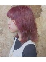 magiy hair 《nishibe》ふわミディ