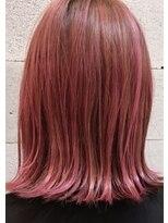 ヘアメイク アプト モカレーベル(HAIR MAKE apt mocalabel)ドピンク