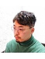 ヘアーメイクサロンアカイシ(hairmake salon AKAISHI)傷んだ髪でもナチュラルウェーブ!