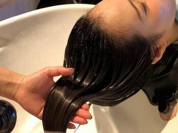 ヘアーデザインプレクト(Hair Design PRECT)の写真/☆祝一周年!!-お客様の髪質に合わせたトリートメントをオーダーメイドで☆いつまでも美しい艶髪に◎