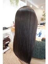 オーガニックヘアサロン ツリー(organic hair salon Tree)ツヤサラロング